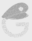 تصویر لوگوی گوگل با کلاه پلیس